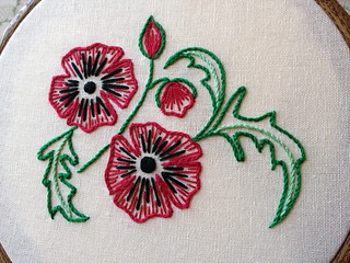 Wizard of Oz Poppies - New Pattern | by juliezryan