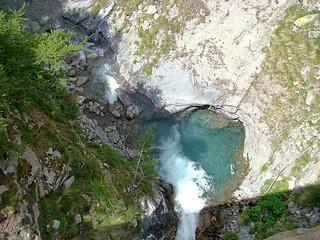 120 tussenstop bij brug met waterval