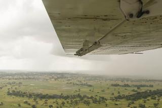 Unwetter über dem Okavango Delta