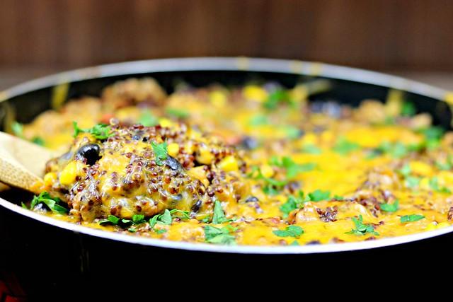 Turkey Quinoa Skillet