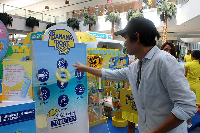 Watsons Summer Promo Travel Philippines Sunblock Skin Games