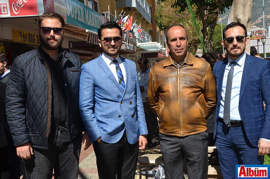 Cihan Hatipoğlu, Halit Hatipoğlu, Ömer Faruk Uğurlu, Mehmet Hatipoğlu
