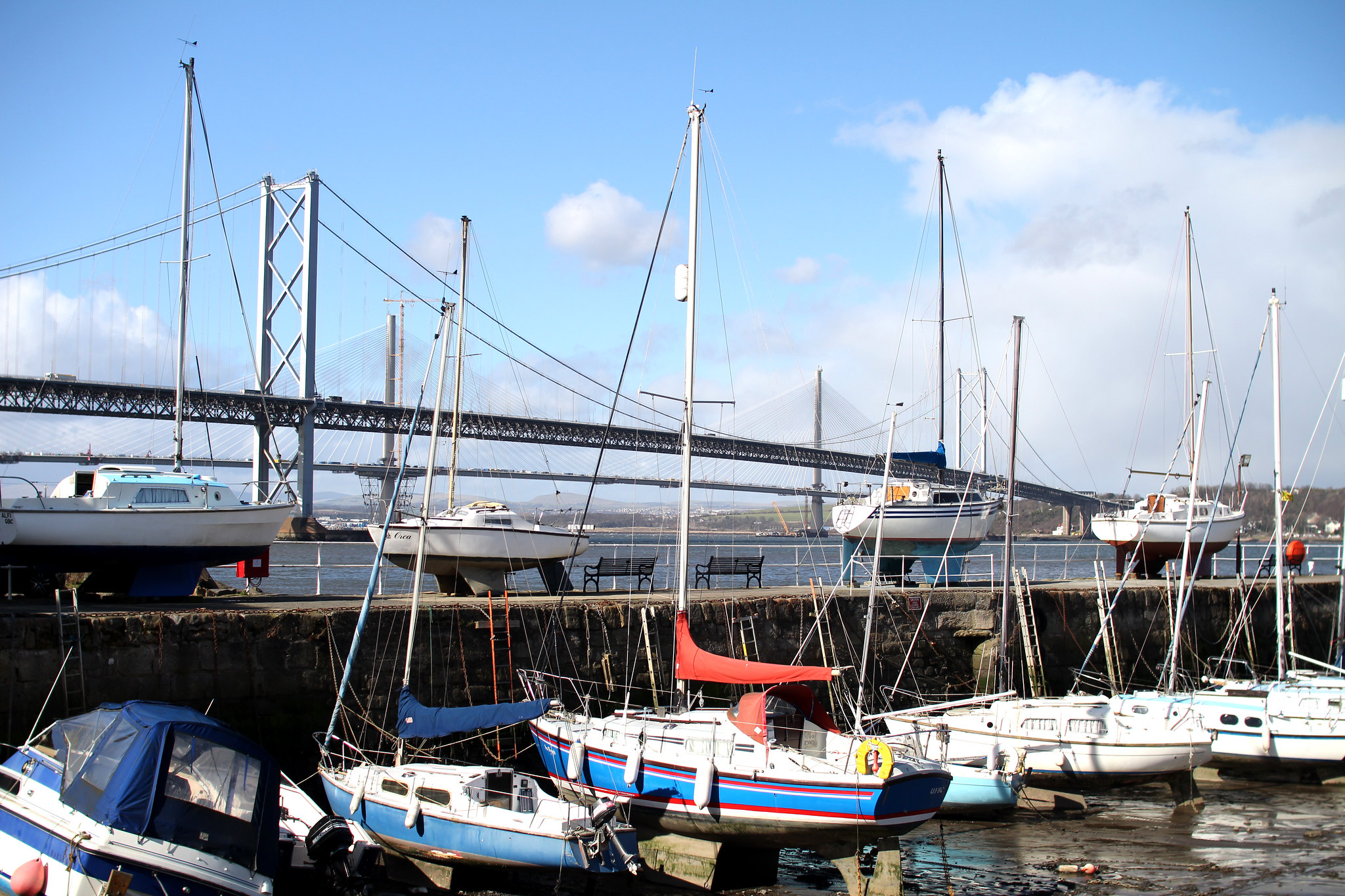South Queensferry Edinburgh travel blogger UK