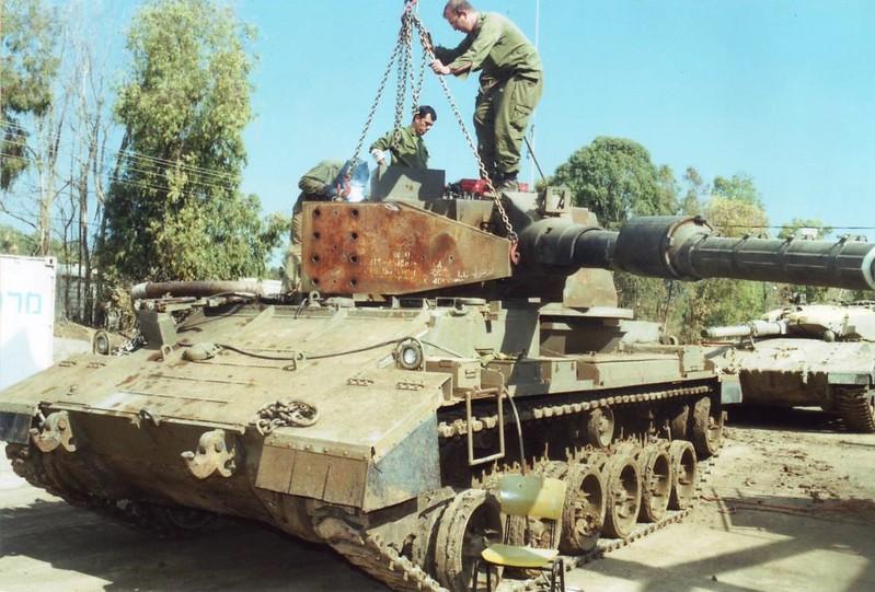 Опытный израильский легкий танк