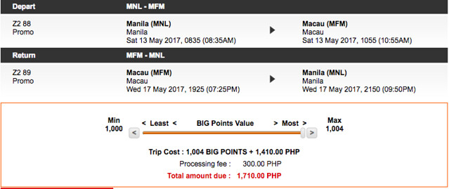Final Call Sale Macau May 2017