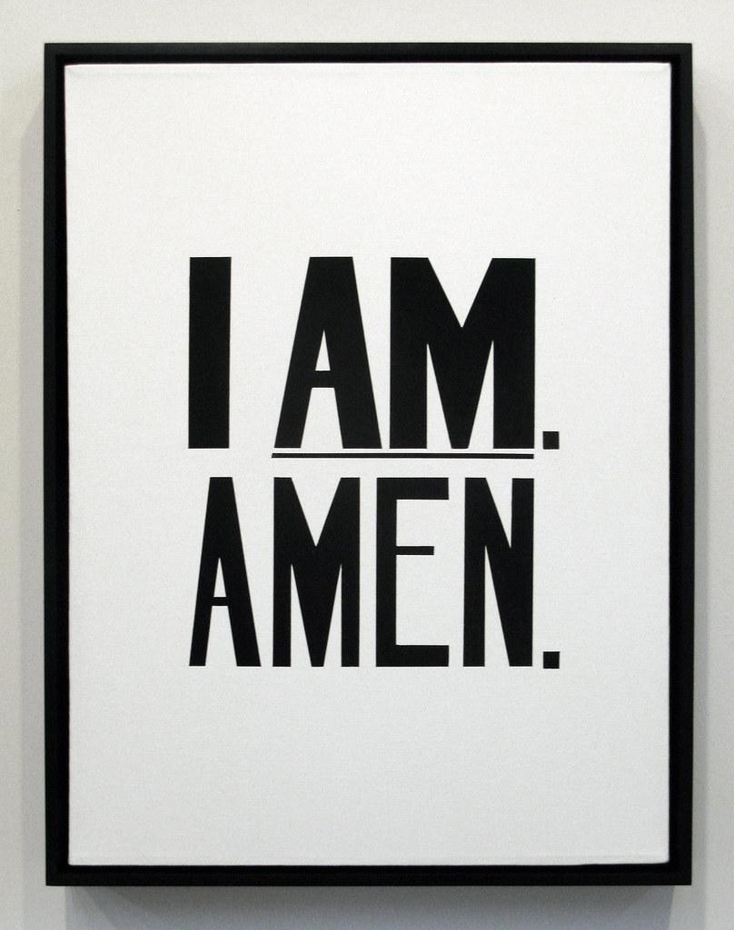 I am. Amen.