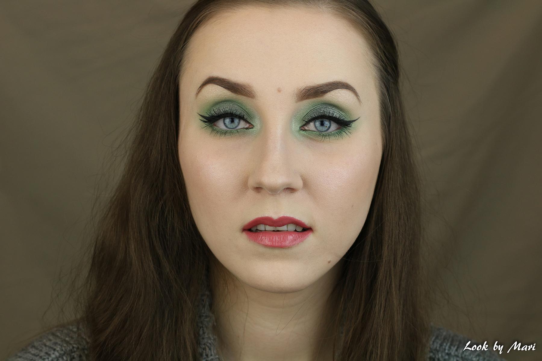 3 vihreä silmämeikki ideat tutoriaali ideoita siniselle silmille