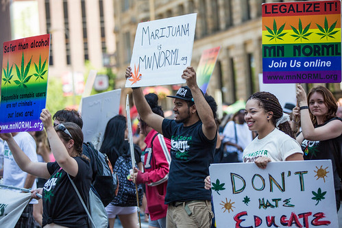 Minnesota NORML — Don't Hate, Educate, Legalize / Twin Cities Pride Parade | by Tony Webster