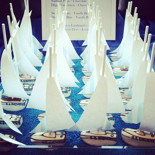 Sailboat Cake Pops | by Sweet Lauren Cakes