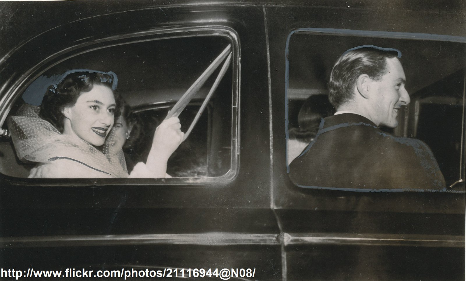 Princess Margaret in Paris