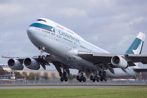B-HUE Boeing 747 Cathay Pacific | by iesphotography