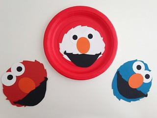 Elmo Party Craft | by CraftyGoat