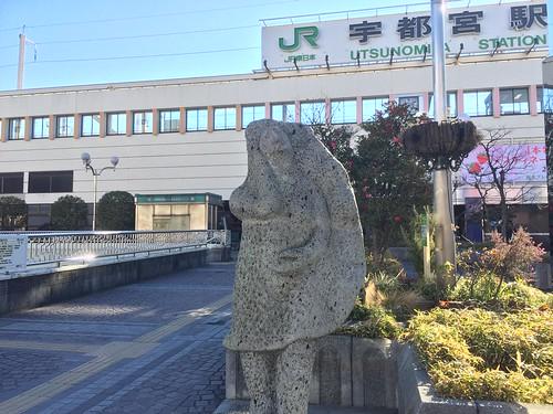 餃子像@宇都宮駅前