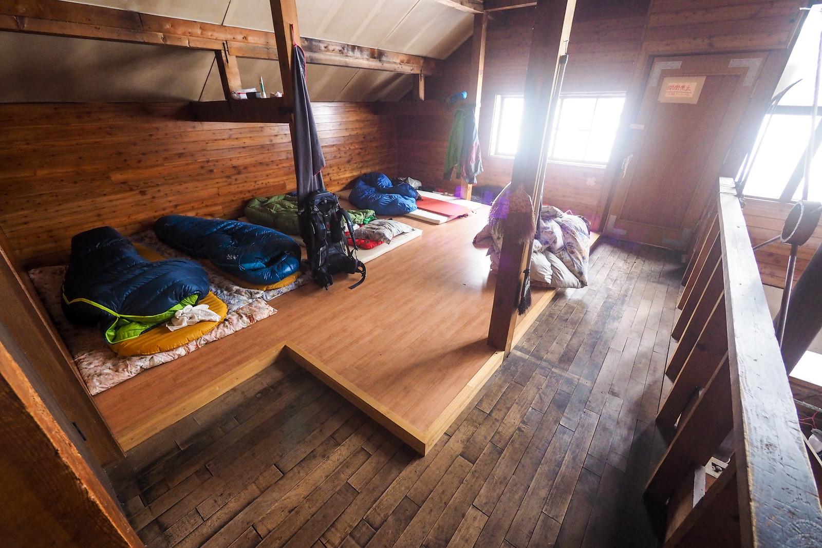 Shokanso Hut (Shokanbetsu, Mashike, Hokkaido, Japan)
