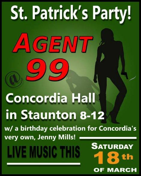 Agent 99 3-18-17