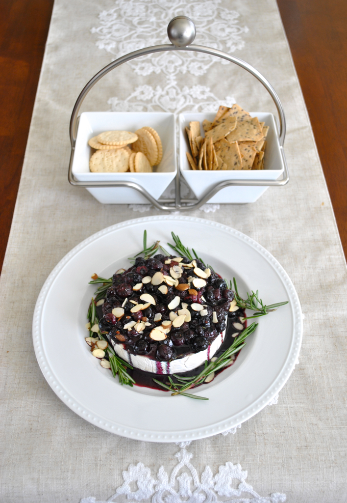 Blueberry Chutney Over Brie-Head to Toe Chic