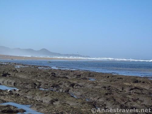 More volcanic rocks near Beverly Beach, Oregon
