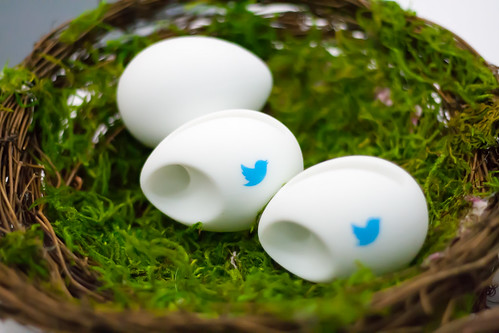 Twitter Eggs at OSCON | by Garrett Heath