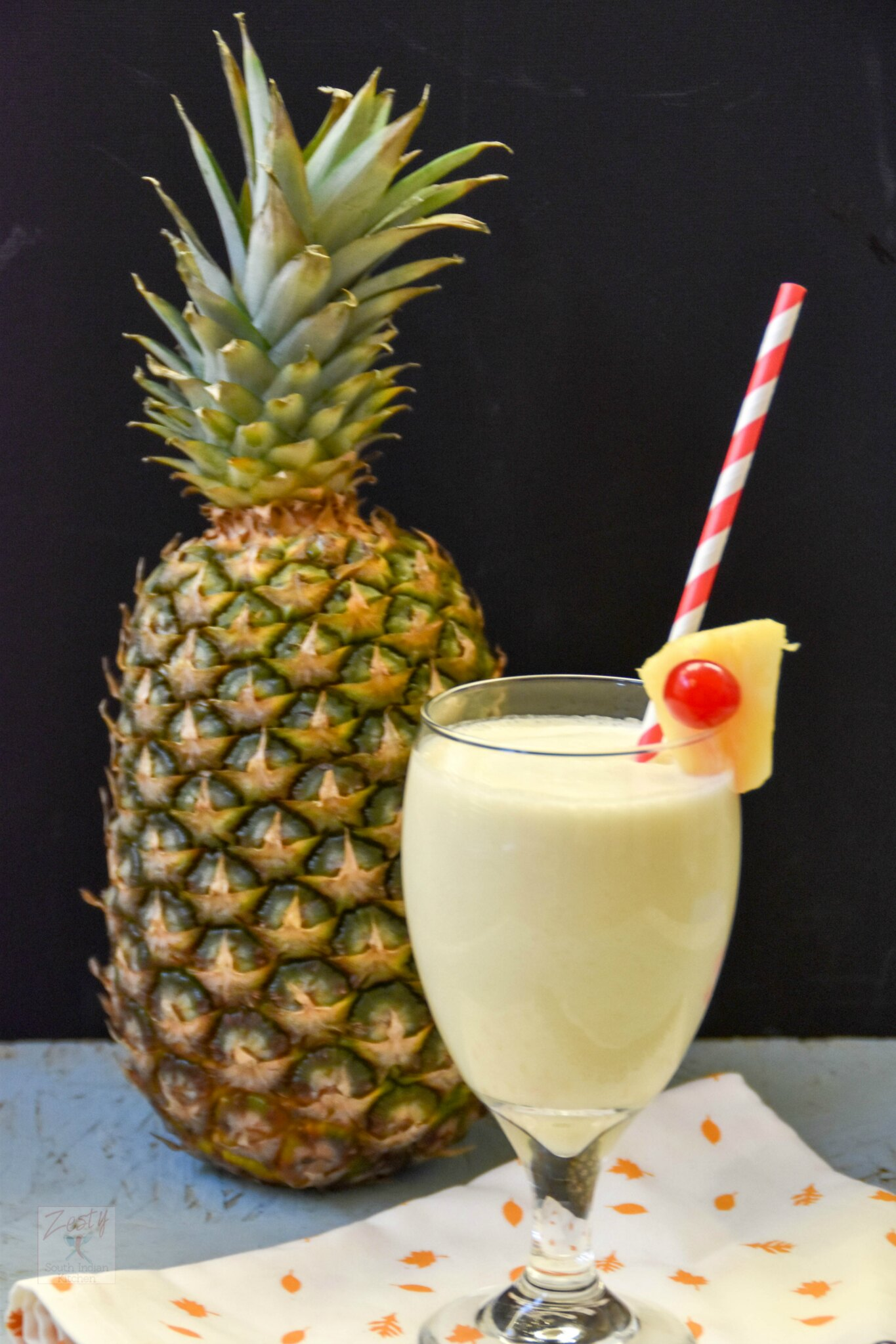VIRGIN PINA COLADA ZESTY SOUTH INDIAN KITCHEN