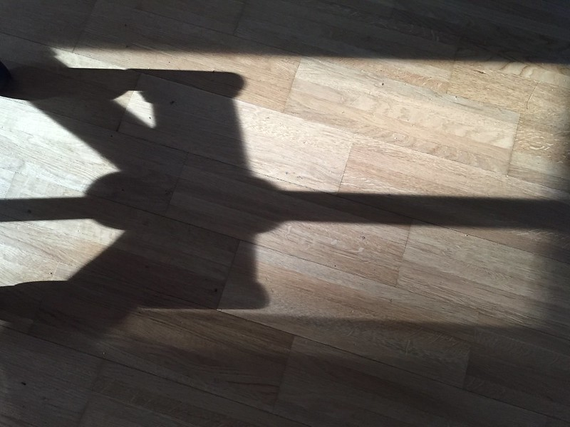 Shadow of chair