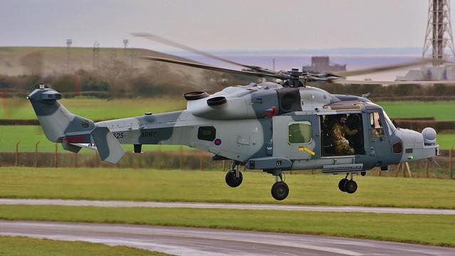 Wildcat AH.1 ZZ525
