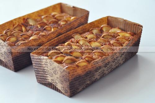 Bolo de maçã e amêndoas