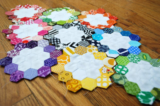 Hexagon Blocks | by Hip To Piece Squares