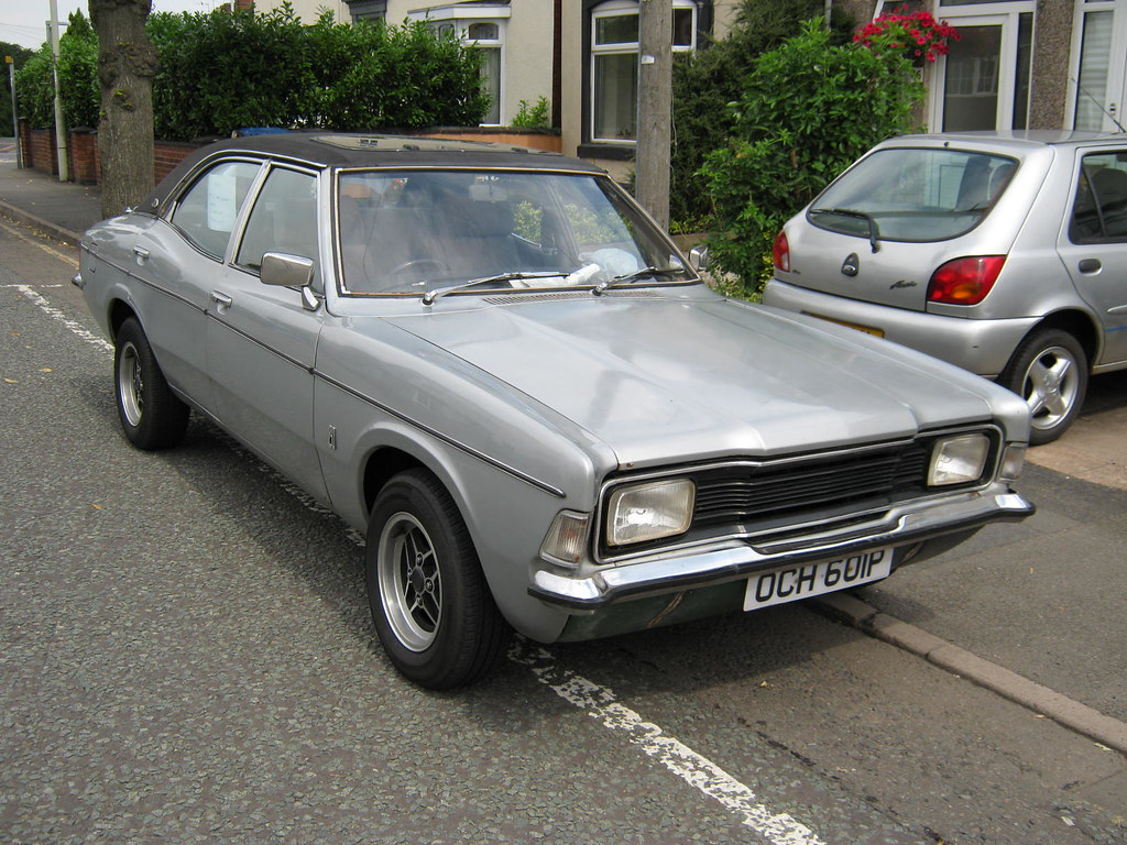 1976 ford cortina mk3 1993cc 2000e och601p | registration oc… | flickr