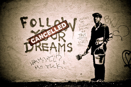 Follow Banksy's Dreams | by Thomas Hawk