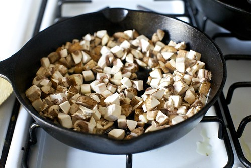 cook the mushrooms until liquid seeps | by smitten kitchen