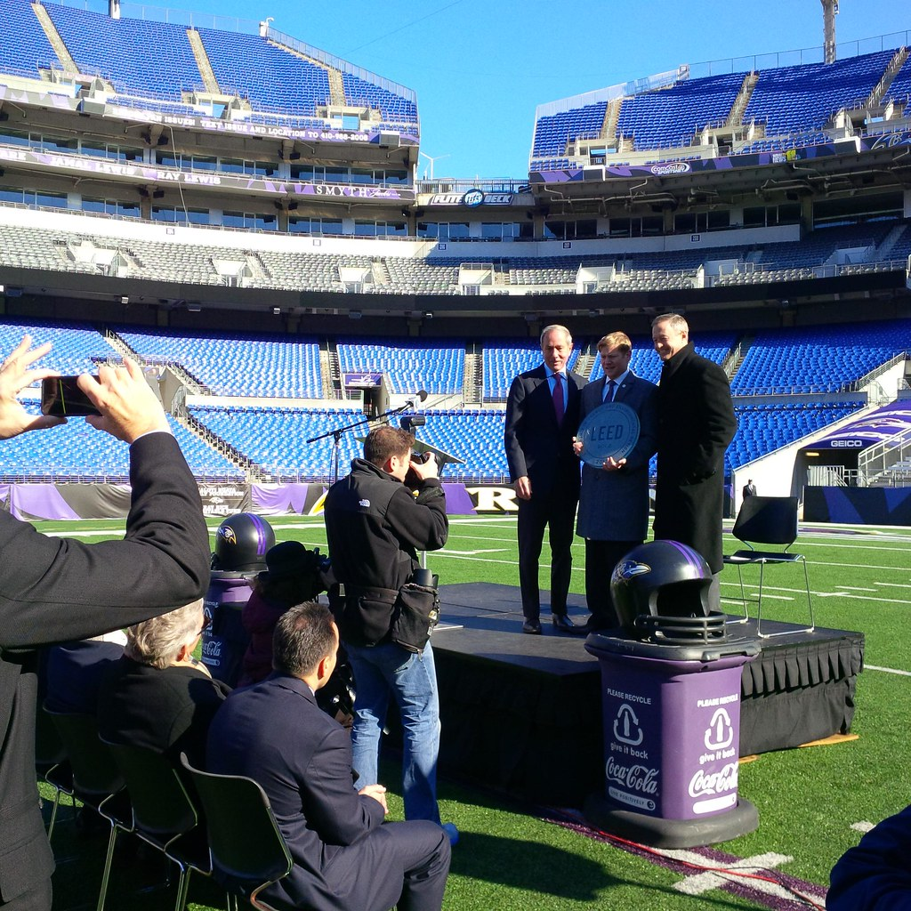 Fan Cans Ravens Team President Gov Omalley Useen Build Flickr