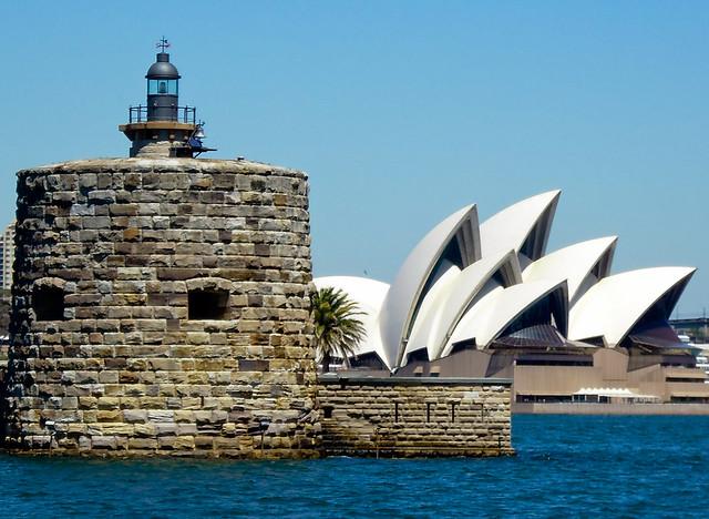 Fort Dennison & Sydney Opera House