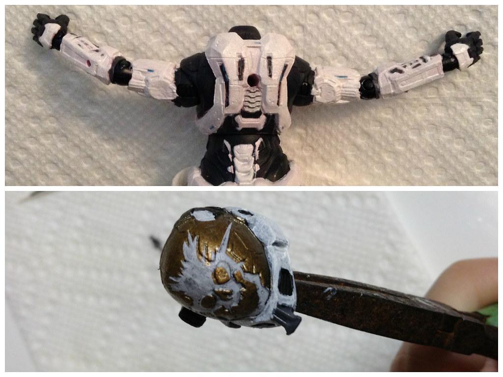 Custom Halo Reach Spartan Update #6 | slidercleo | Flickr