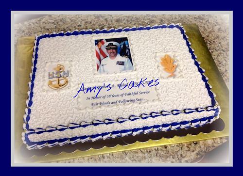 Navy Retirement Cake Ideas