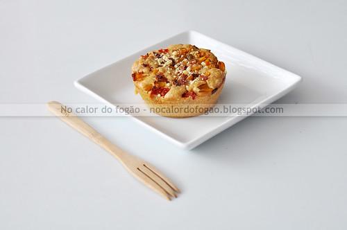 Torta salgada no pratinho