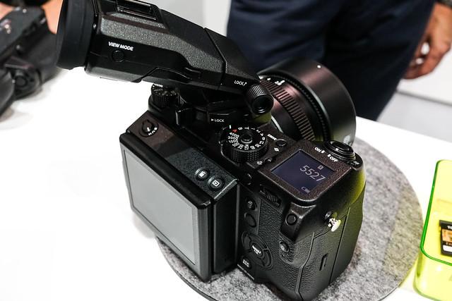 【CP+ 2017】Fujifilm GFX 50s | 08