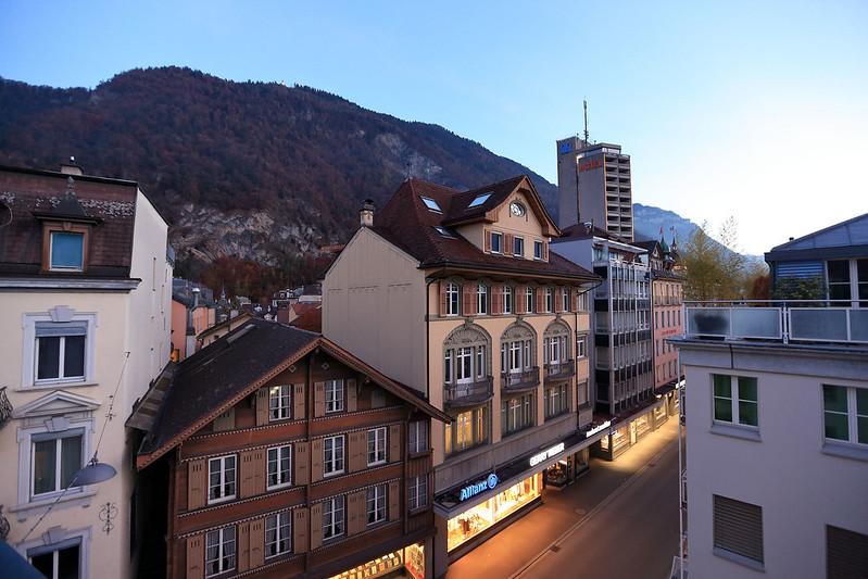 Hotel Weisses Kreuz view