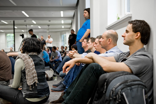 The team listening to what the next few months holds for the company | by envato