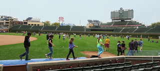 Wrigley Field, Children at Neighbors Day | by photophan57