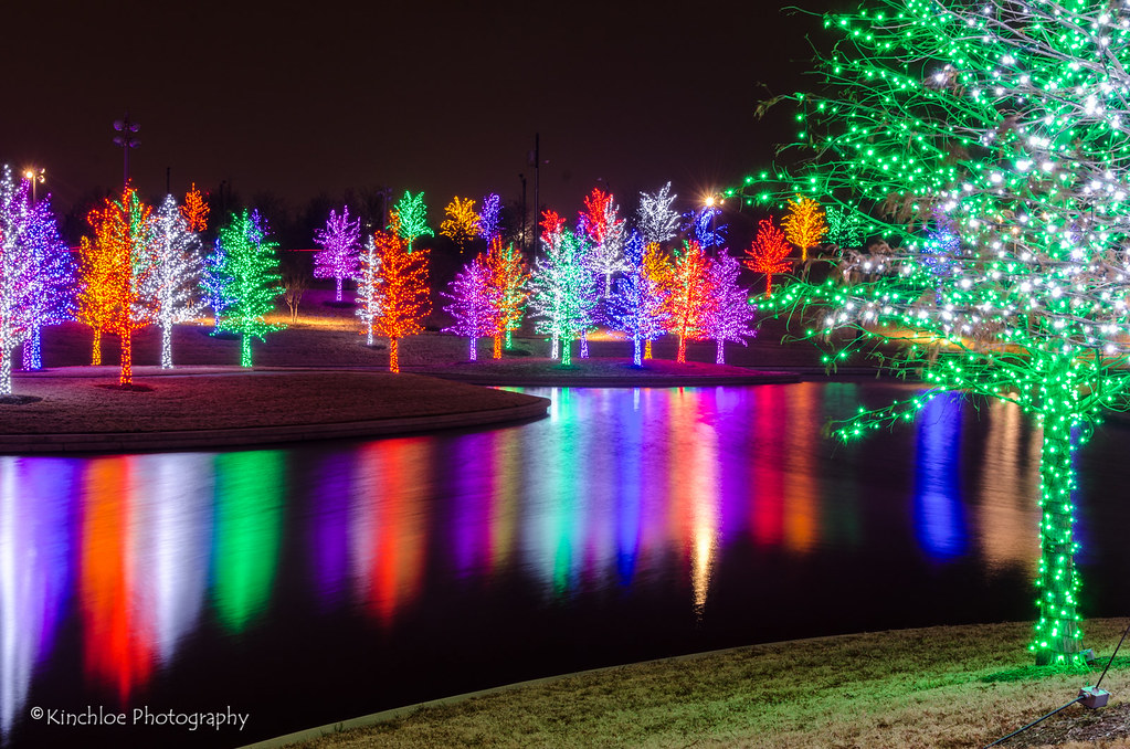 2013 Vitruvian Park Christmas Lights Addison Tx Flickr Kinchloe