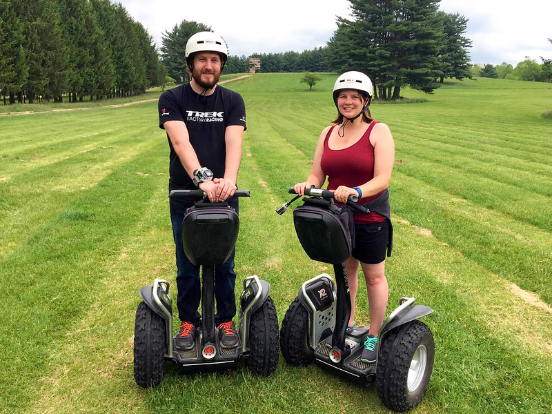 Off-road Segway tour in the Hocking Hills