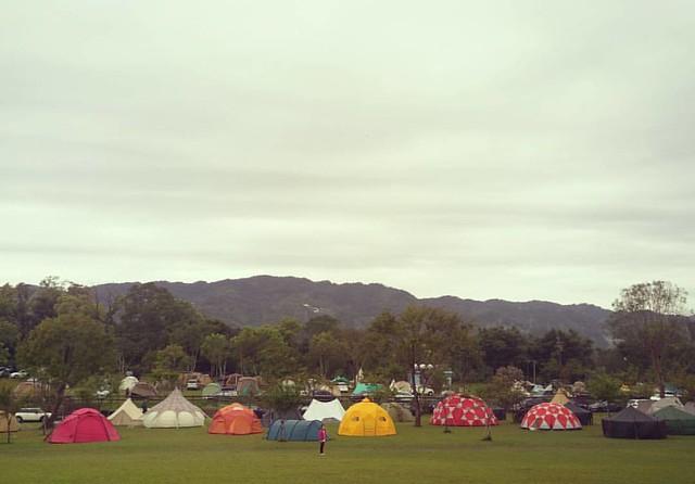 20170326 早安 連夜大雨後的帳篷會 #歐北露 #campinglife #2017tentmeeting #2017帳篷會 #mountainhardwear #thenorthface #hilleberg