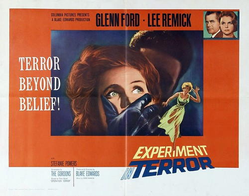 Experiment in Terror - Poster 3