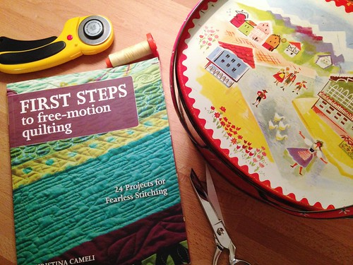 First Steps to Free-Motion Quilting | by Happy Zombie