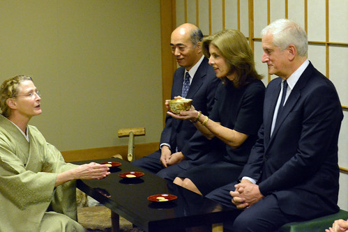 Ambassador Kennedy Participates in a Tea Ceremony | by U.S. Department of State