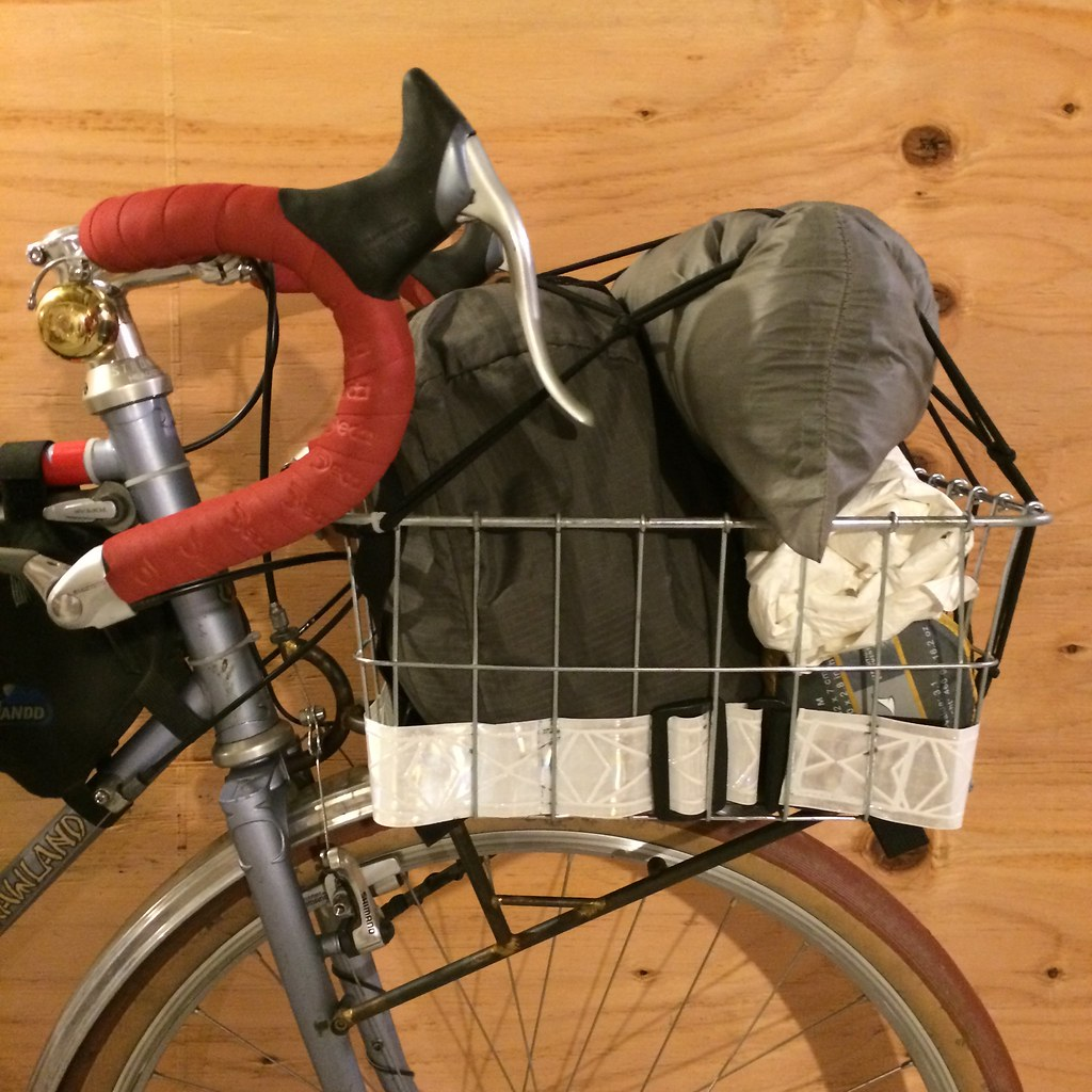 ... January Bike Camping Gear - Basket Load (Wald 1392 Front Basket) | by  joeball