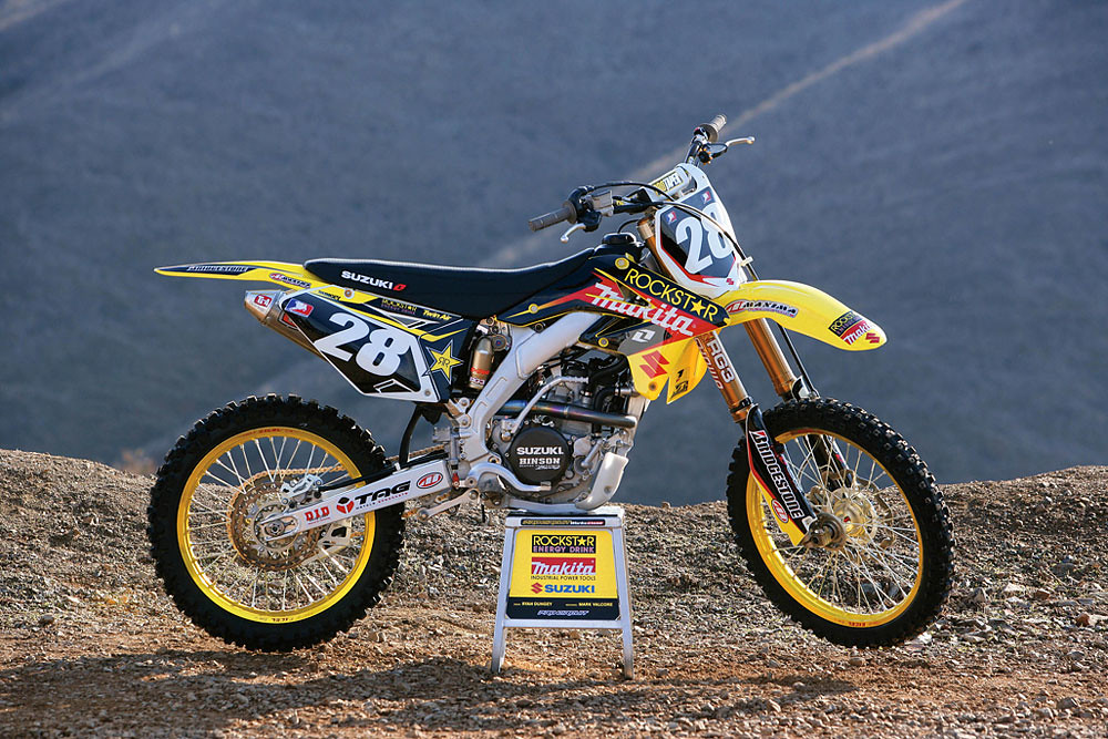 Ryan Dungey's 2008 Factory Suzuki RMZ250 | Tony Blazier | Flickr