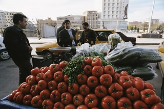 Vegetable stand along side of a road | by World Bank Photo Collection