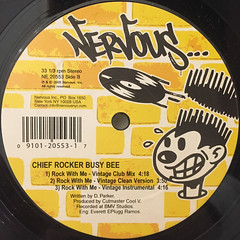 CHIEF ROCKER BUSY BEE:ROCK WITH ME(LABEL SIDE-B)