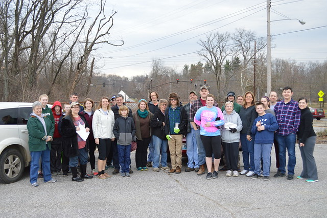 Beargrass Creek Greenway Cleanup
